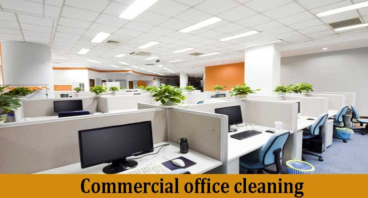 commercial office cleaning HOME
